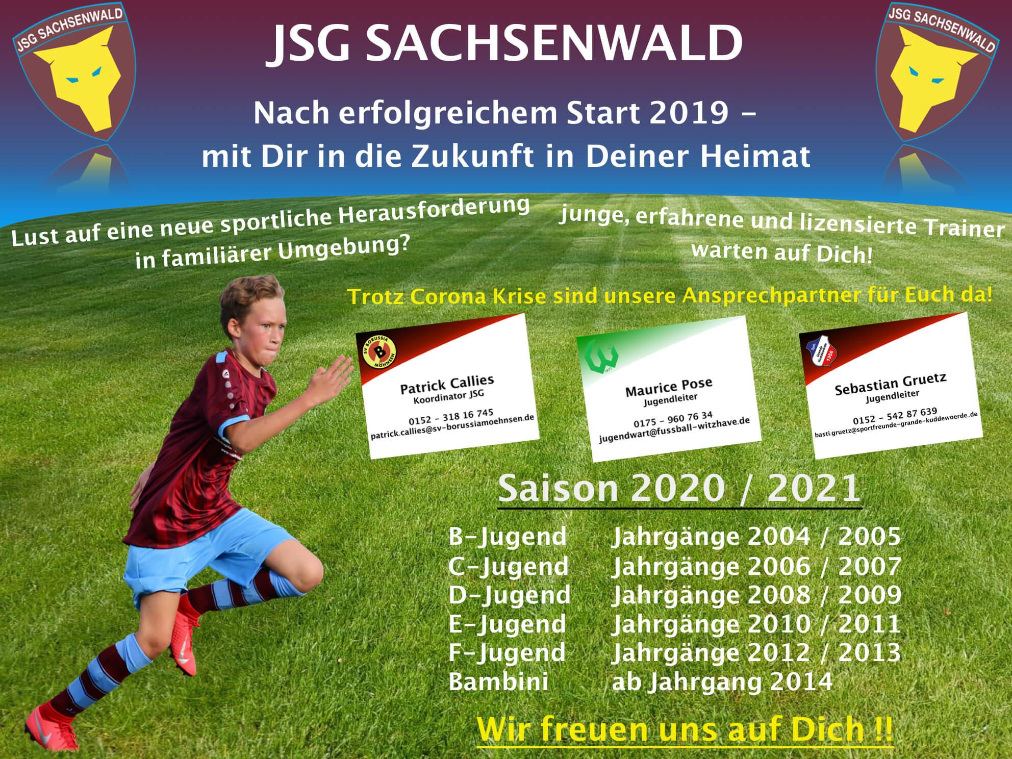 JSG Sachsenwald 2020